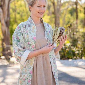 Banksia kimono_Jindii_green